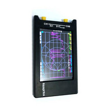 הגרסה החדשה ביותר NanoVNA H4 10KHz ~ 1.5GHz VNA 4 אינץ LCD 1950MAh סוללה HF VHF UHF UV וקטור רשת אנטנת מנתח במקרה I3 10