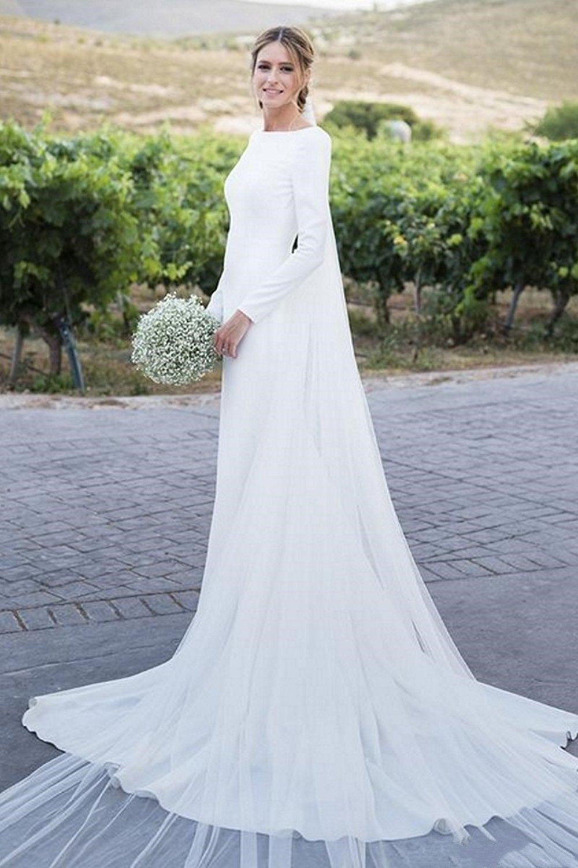 Women's Modest Wedding Dresses