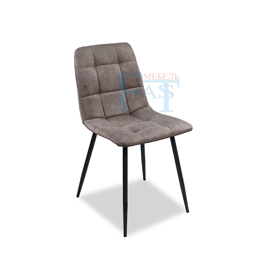 4 Pcs The Artificial Leather,velours Dining Chair, Kitchen Chair And Metal Chair, Brown Color ,free Delievry For Russia,
