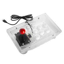 Arcade Joystick 10 Buttons Pc Controller Computer Game Arcade Sticks New King Of Fighters Joystick Consoles Joystick цена
