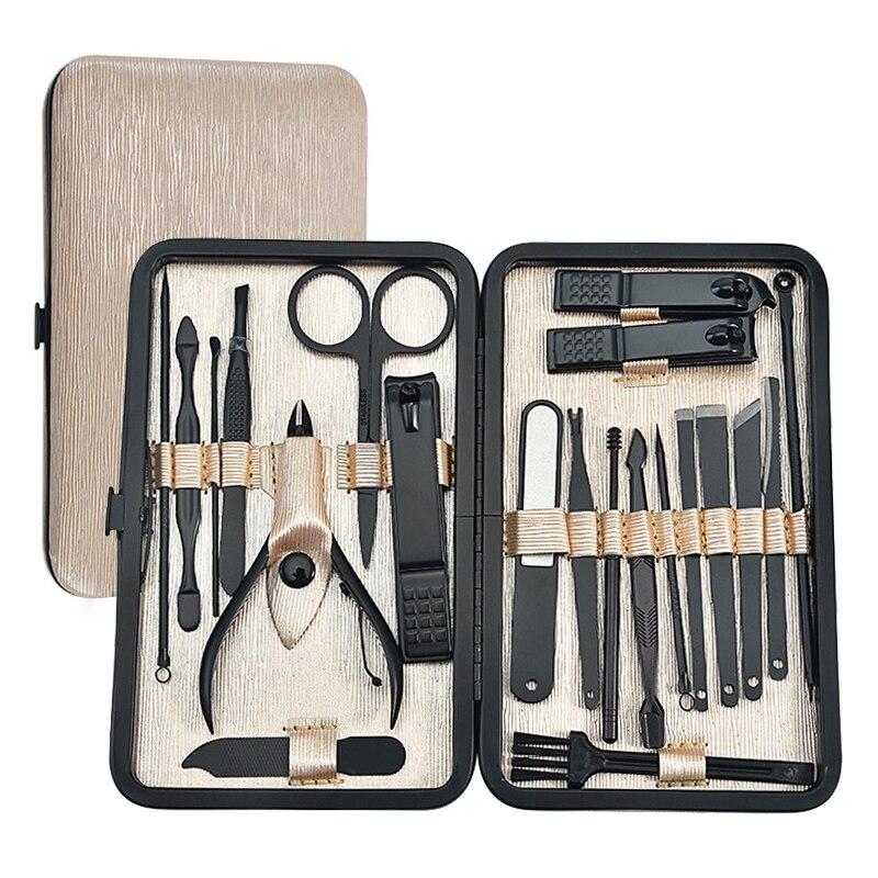 21 pc conjunto de ferramentas de manicure