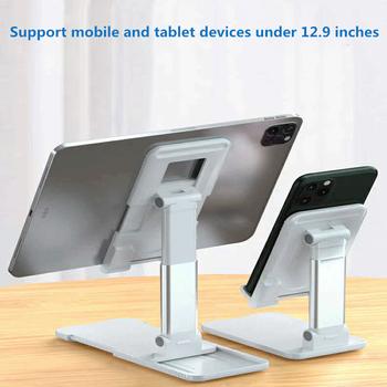 Metalowy uchwyt na Tablet biurkowy składany stojak na telefon komórkowy stojak na telefon komórkowy stojak na iPhone iPad regulowany tanie i dobre opinie KDOKC Uniwersalny 303-ZH Ze stopu aluminium ze stopu aluminium
