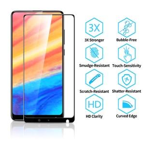 Image 2 - ESR pour Xiaomi Mi MIX 2 2S verre trempé Anti Blue ray couverture complète protecteur décran pour Xiaomi mi x 2s mix 3 mi 6 8 9 se 10 pro