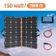 40 Вт 60 100 120 150 200 Складная солнечная панель портативная