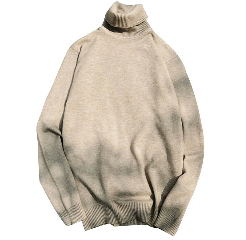 Cashmere Sweater For Men 2019 New Arrival Christmas Sweater For Men Long Sleeve Tight Turtleneck Pullover For Men