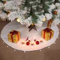 Buon Albero di Natale Gonne Tappeto Peluche Di Natale Decorazioni per la Casa navidad Natale Albero di Gonne di Prodotti Nuovo Anno