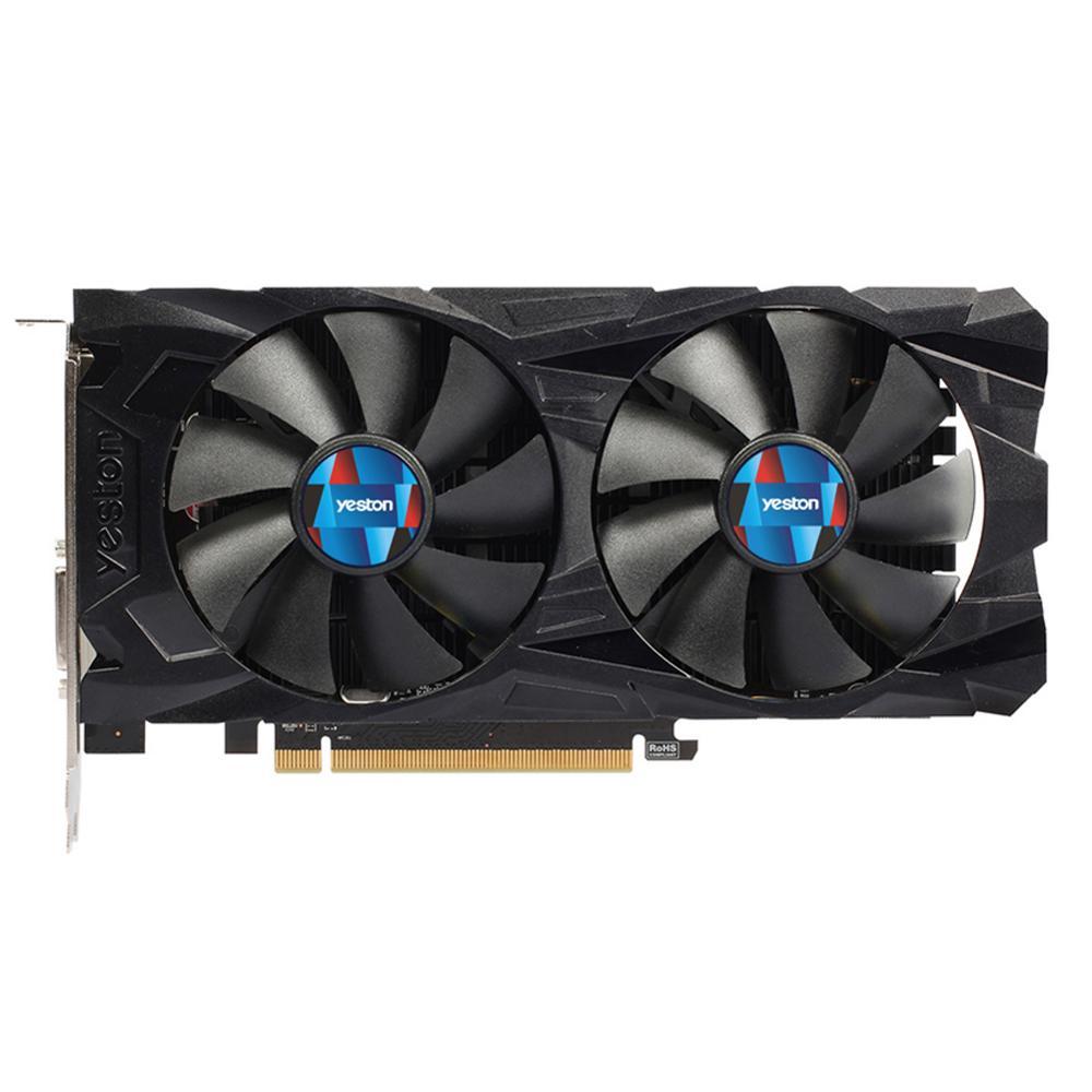 Yeston Radeon RX560D 4GB GDDR5 PCI Express 3.0 DirectX12 Desktop Gaming Video Graphics Cards External Graphics Card