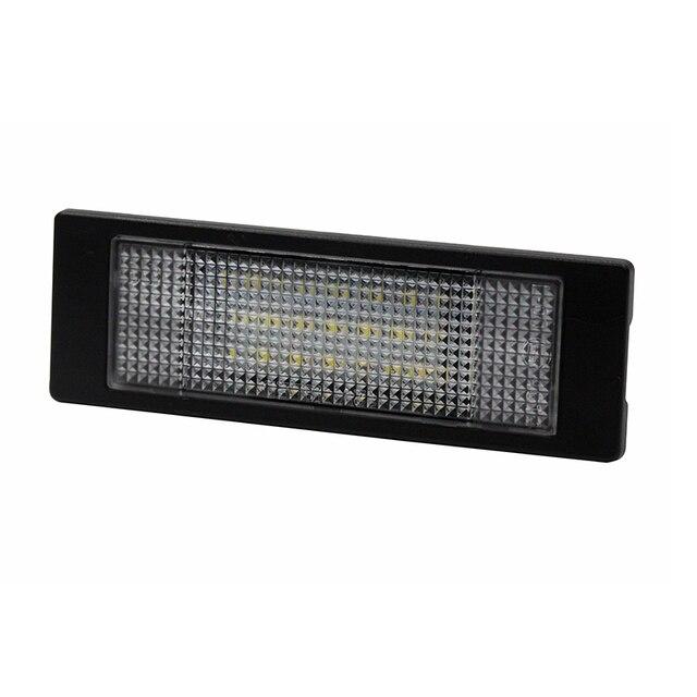 2 pièces/ensemble SUNKIA voiture plaque dimmatriculation LED lumières pour Mini Cooper Club homme 2D coupé/Countryman 5DWhite lampe Canbus ampoule Kit 12V