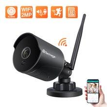 كاميرا مراقبة Techage ، كاميرا واي فاي ، أنظمة الأمن, كاميرا مراقبة بدقة 1080 بيكسل ، كاميرا بروتوكول الإنترنت ذات اتجاهين للصوت ، كاميرا مضادة للم...