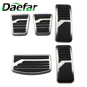 Image 1 - Stainless Steel Car Pedal Pad Cover AT MT Pedals for Mitsubishi ASX Outlander Lancer EX Eclipse Cross Pajero RU