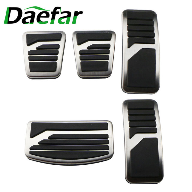 Stainless Steel Car Pedal Pad Cover AT MT Pedals for Mitsubishi ASX Outlander Lancer EX Eclipse Cross Pajero RU