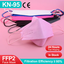 Fish KN95 FFP2Mask CE Reusable FFPP2 Mascarillas FFP2 Homologadas Adult Colored 4 Layer Protective Filtro Mascarilla FPP2 FPP3