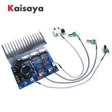 TDA7294 150W + 80W + 80W 2.1 3 canaux haut parleur subwoofer basse NE5532 HiFi amplificateur de puissance audio carte finie T0844