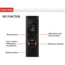 Jq40 40m ip54 digital laser range finder medidor de distância medida diastímetro ferramenta carregamento usb rangefinder