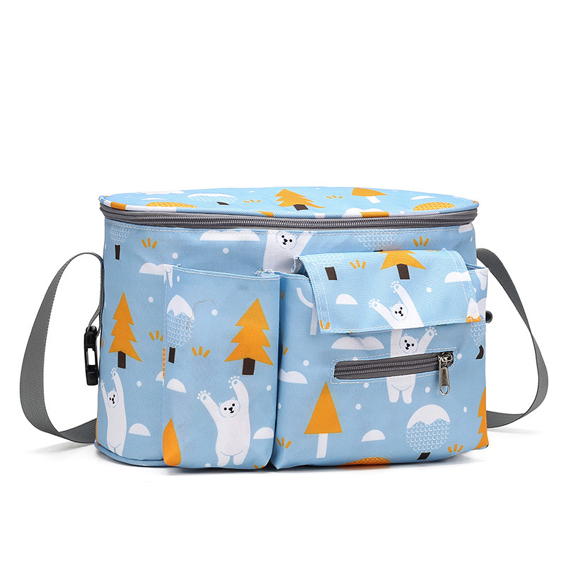 Large Capacity Diaper Bags Outdoor Travel Out Package Hanging Carriage Mommy Waterproof Bag Infant Organizer Baby Stroller bags