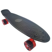Skateboards Complete 22 Inch Mini Cruiser Skateboard for Kids Boys Girls Youths Adults Beginners with Portable Carry Bag O2K0017