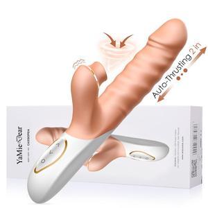 Thrusting Big Dildo Vibrators for Women Magic Wand Body Sucking Massager Sex Toys For Woman Clitoris Stimulate Female Sex Shop(China)