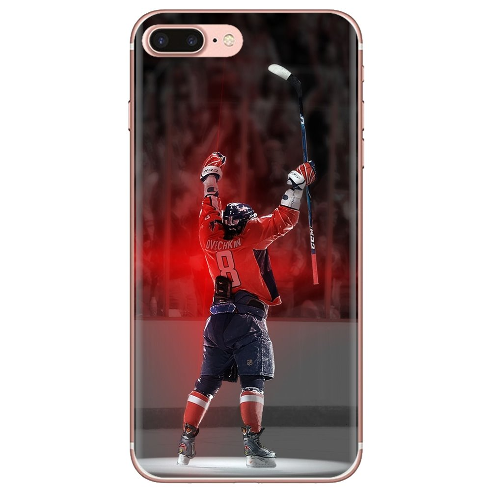 For Xiaomi Redmi 4A S2 Note 3 3S 4 4X 5 Plus 6 7 6A Pro Pocophone F1 Alex Ovechkin Silicone Phone Shell Cover(China)