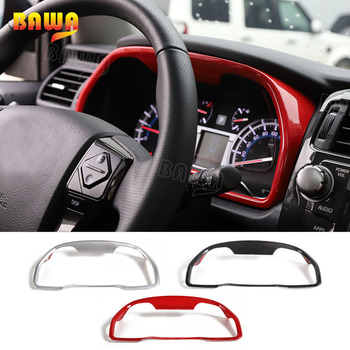 BAWA Front Dashboard Decoration Frame Rings Cover Stickers Interior Mouldings Accessories For Toyota 4Runner 2010+
