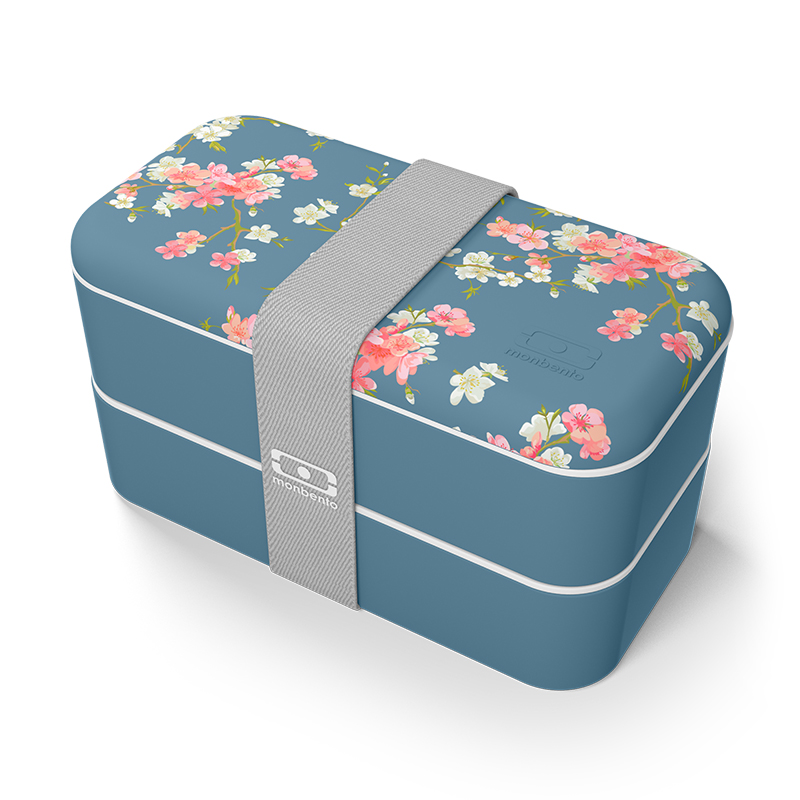 France Monbento Lunch-box Japanese Lunch Box Portable Bodybuilding Fat Reduction Dinner Box Printing