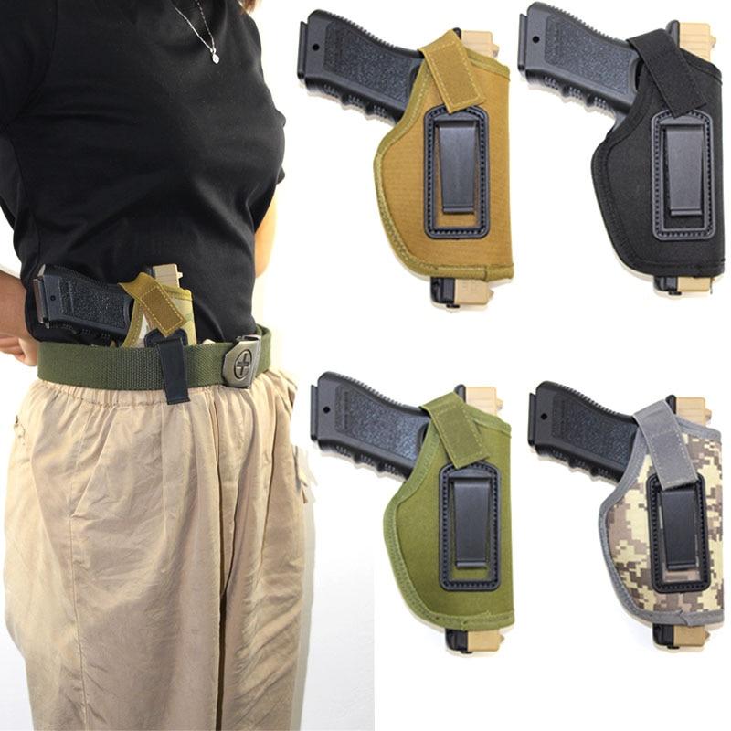 Coldre de arma tático para glock 17 19 beretta m92 colt 1911 makalov taurus pistola coldre airsoft escondido carry gun caso