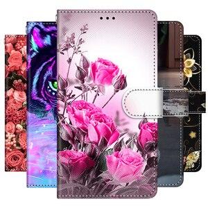Image 1 - Dla Oppo A53S A32 A15 A15S A11 A11X przypadku skóra miękka telefon etui na Oppo A5 A9 A33 A53 4G 2020 pokrywa Coque etui z klapką zderzak książki