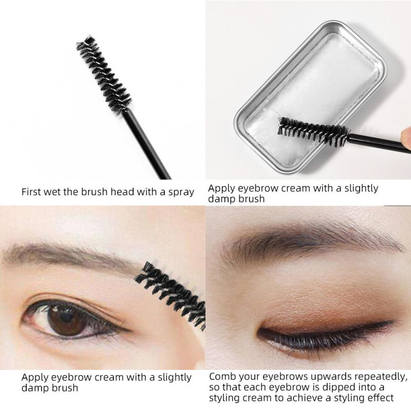 3D Feathery Brows Makeup Balm Styling Brows Soap Kit Lasting Eyebrow Setting Gel Waterproof Eyebrow Tint Pomade Cosmetics TSLM2 1