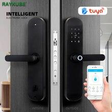 Raykube дверной замок с отпечатком пальца приложение для смартфона