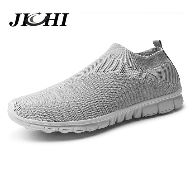 2020 Men's Sneakers Lightweight Mens Breathable Summer Sneakers Comfort Unisex Non-slip Men Casual Shoes Summer Soft Big Size 47