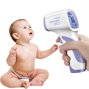 Image 1 - Digital Infrared Thermometer Body Temperature Gun Adult Kids Forehead Noncontact Forehead Body Thermometer w/ Backlight In Stock