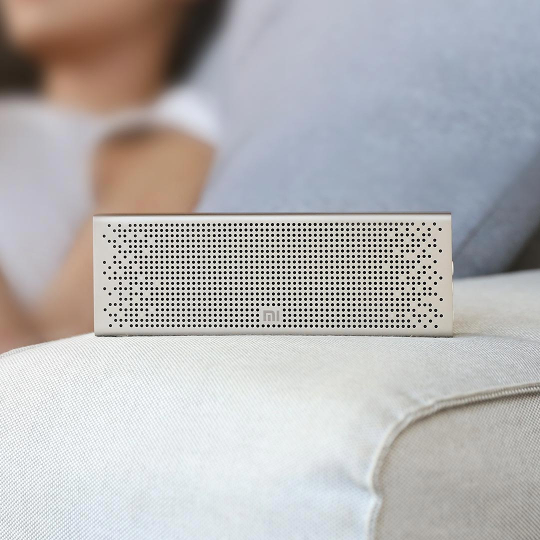 Bluetooth 5.0 Speaker Mini Wireless Metal Stereo Device Portable Hands free Music MP3 Player Shower Bathroom Products