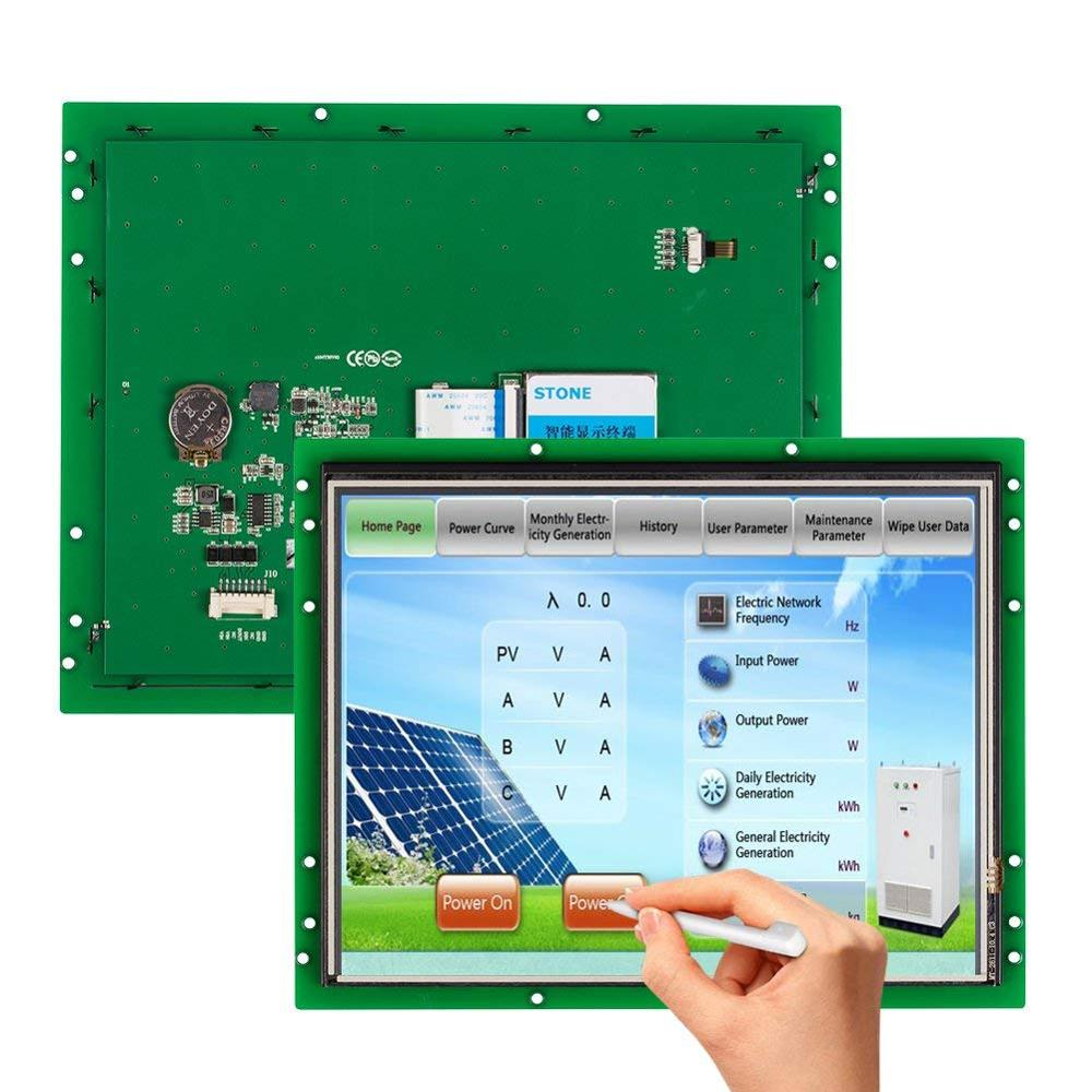 10.4 Inch Programmable Touch Screen Operator Panel With Serial Interface Support Any Microcontroller