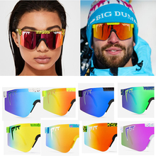NEW Brand Rose red pit viper Sunglasses double wide polarized mirrored lens tr90 frame uv400 protection wih case