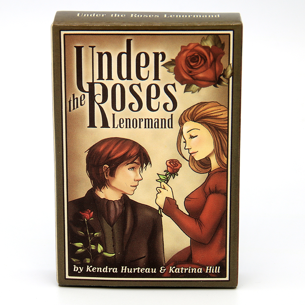 Under The Roses Lenormand Discover The Buried Secrets In Under The Roses, A Charming 39-card Petit Lenormand Deck