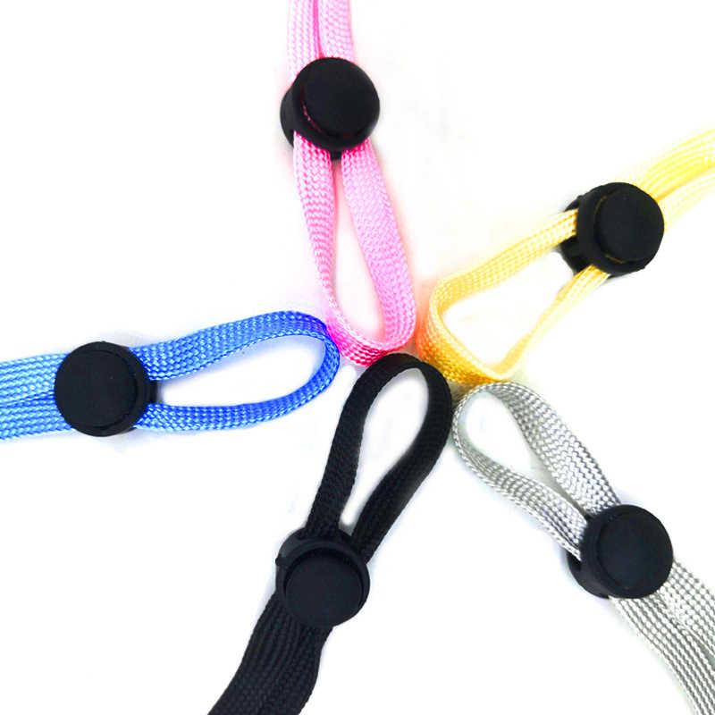 1 adet 7mm maske kordon maske askısı taşınabilir maske elastik Band anti-kayıp maskesi halat maske kulak asılı yuvarlak halat kanca ile kanca