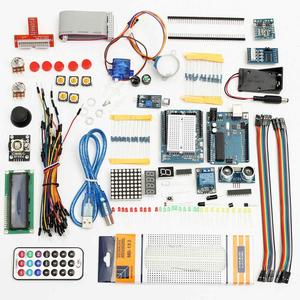 Image 2 - Ultimative Starter Kit für Arduino UNO R3 1602 LCD Servo Motor Breaddboard LED