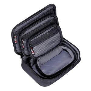 Image 5 - 3 pièces multi fonction accessoires organisateur étui de transport Usb câble carte cordon dalimentation batterie stockage voyage électronique Gadget sac à main