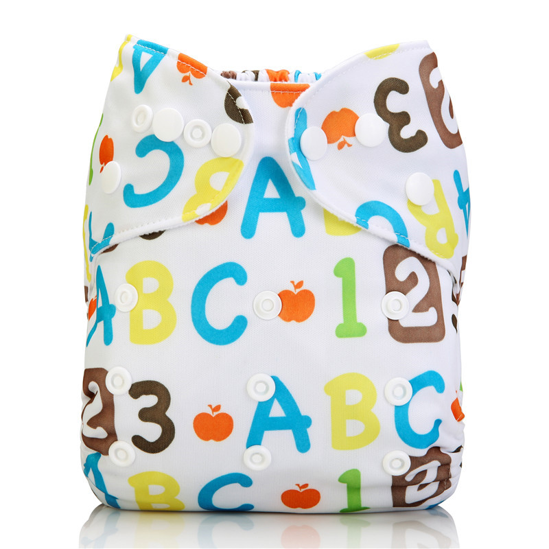 Hot Sale Baby Washable Reusable Real Cloth Pocket Infants Nappy Diaper Cover Wrap Suits Birth To Potty One Size Nappy Inserts