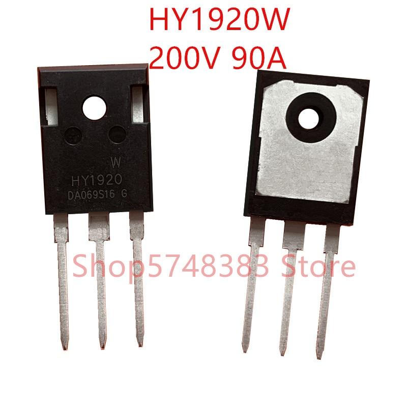 10PCS/LOT 100% New Original HY1920W TO-247 HY1920P TO-220 HY1920  200V 90A MOS Tube