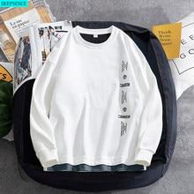 Round Neck Men's Sweatshirt 2021 Spring New Korean Version of The Trend Loose Bottoming Shirt Tide Brand Sweatshirt Men