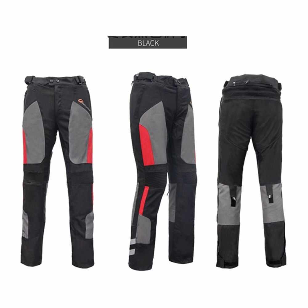 Chaqueta de la motocicleta de los hombres de pantalones Moto en reflectante abrigo pantalones conjunto verano invierno impermeable protector, cálido ropa JK-40