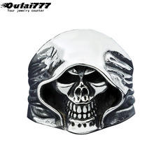 oulai777 mens signet-ring stainless steel Big wide rings gold fashion jewelry 2019 men accessories wholesale gothic skull ring oulai777 signet ring men tainless silver jewelry signet ring men s punk finger fashion hip hop gothic ring men accesories
