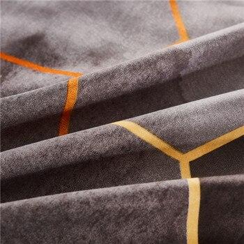 Claroom Geometric Duvet Cover Comforter Bedding Queen King Bed Linens (No Sheet) CV01#