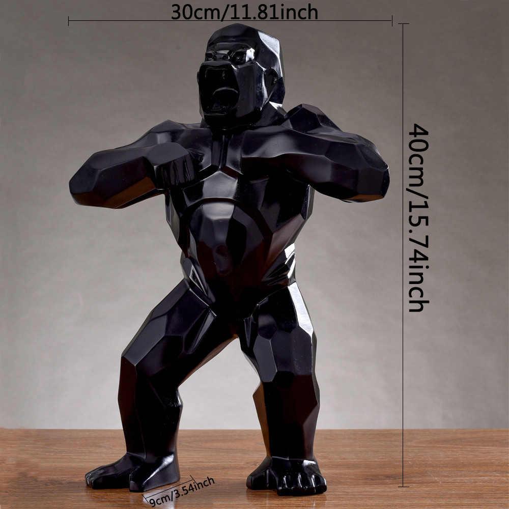 Tier Affe Skulptur Kunsthandwerk Affe-Action-Figur-Statue Für