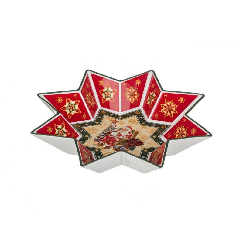 Салатник Lefard, Christmas Collection, 32 см цены онлайн