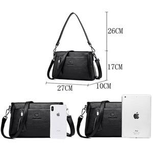 Image 4 - กระเป๋าถือหนังCrossbodyกระเป๋าสำหรับกระเป๋าสตรีสุภาพสตรีกระเป๋าสตรีกระเป๋าถือและกระเป๋าถือคุณภาพสูง