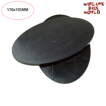 Gaming bases of 1pcs 170 x 105mm oval - sale item Building & Construction Toys
