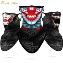 Scarfs Face-Mask Punisher-Neck Shield Bandana Skull Breathable Windproof Gaiter Venom