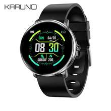 KARUNO Smartwatch H11 Fitness Men Women Clock Color Screen Blood Pressure Heart Rate Monitoring Waterproof Smart Bracelet
