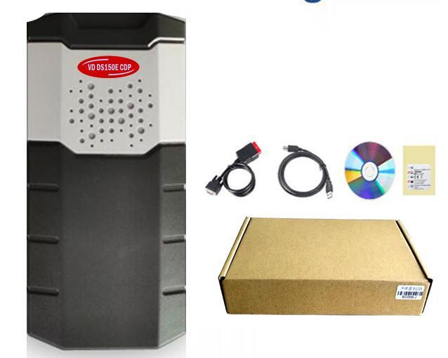 Obd Obd2 сканер для delphis vdijk autocoms pro. R0 VD DS150E CDP BLUETOOTH автомобили Грузовики диагностический инструмент+ 8 шт. автомобильные кабели - Цвет: withboutbluetooth